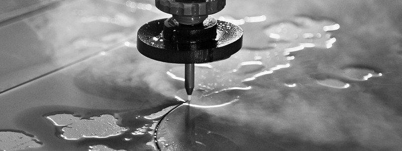 Watersnijden Materiaalbewerking Van De Toekomst